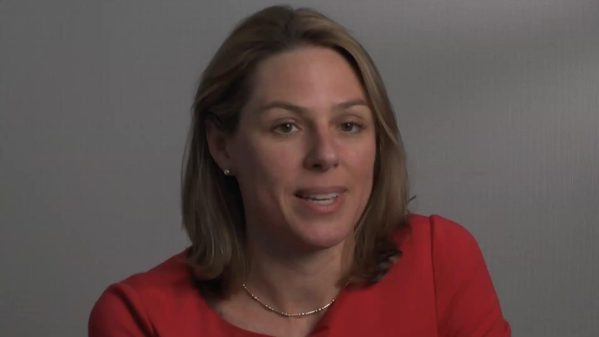 Landis Best describes her role as a mentor to associates.
