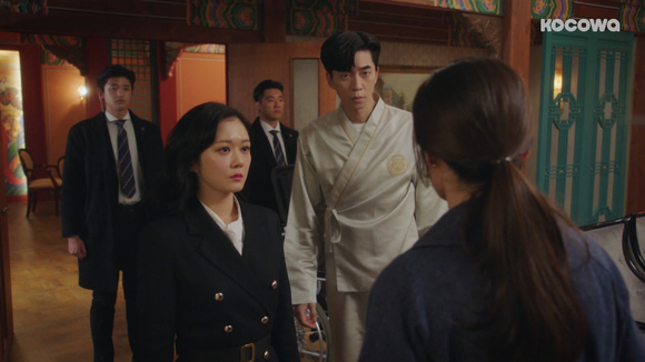 [An Empress's Dignity: Episode 44] Empress Dowager Kang to the (bad guy's) rescue!