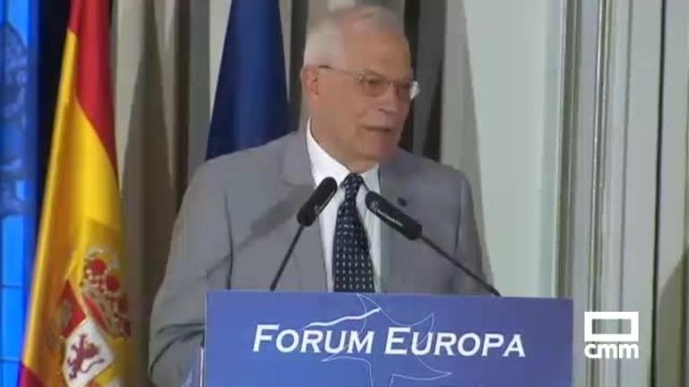 PSOE: El candidato socialista Josep Borrell apuesta por más unidad para una Europa más amenazada que nunca