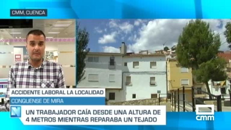 Herido un trabajador tras precipitarse desde cuatro metros en una empresa de cerámica de Mira (Cuenca)
