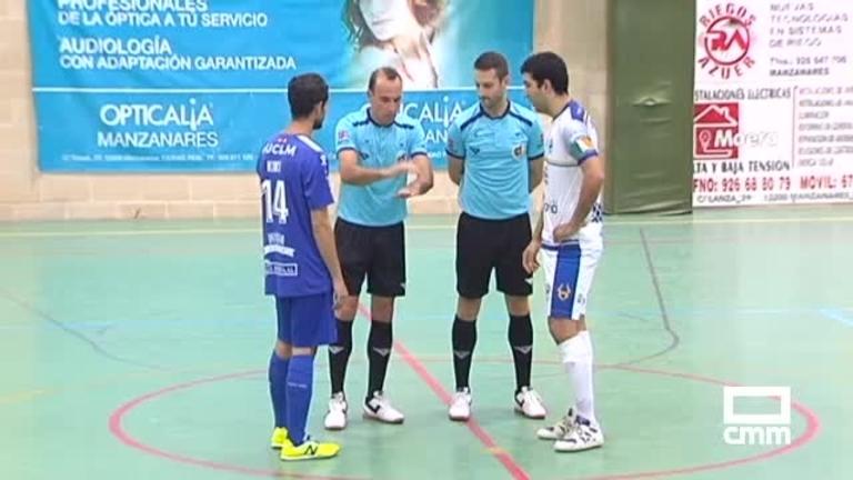 Manzanares FS - Bisontes Castellon (2-1)