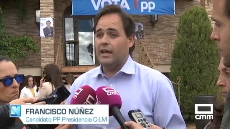 PP: Paco Núñez defiende el ATC de Villar de Cañas y Tercero promete una UCI para Valdepeñas