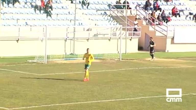 CD Guadalajara - Atlético Tomelloso (2-2)