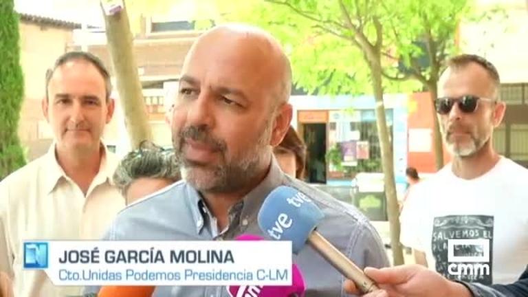 Unidas Podemos: García Molina anima a votar a su partido para impedir que Castilla-La Mancha vire hacia la derecha