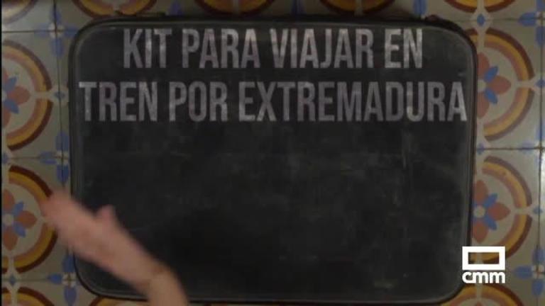 Así es el kit de viaje con el que los afectados se mofan del tren Madrid–Extremadura