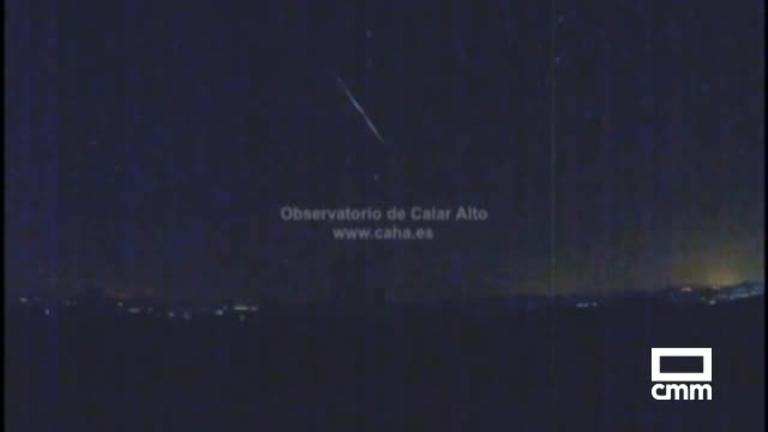 El fragmento de un cometa ilumina fugazmente el cielo de Albacete