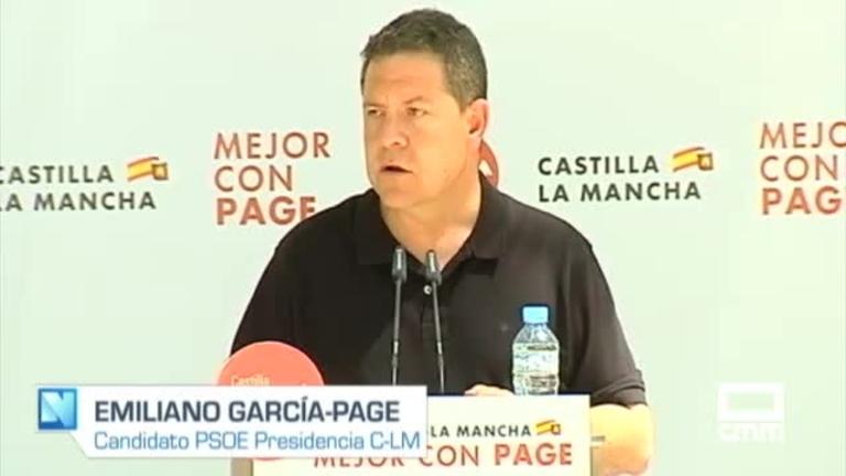 PSOE: García-Page destaca el trabajo con la agricultura ecológica, y Alberto Rojo defiende la investigación y la innovación