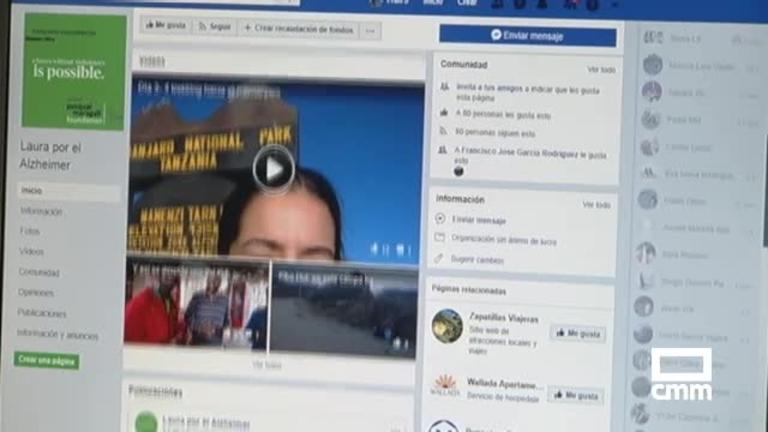 Una puertollanense asciende hasta el Kilimanjaro para visibilizar el Alzheimer