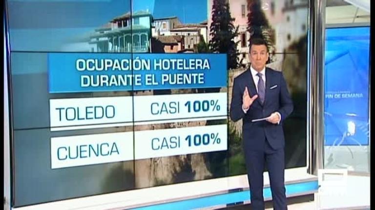 Toledo y Cuenca rebosan de turistas en el puente de la Constitución