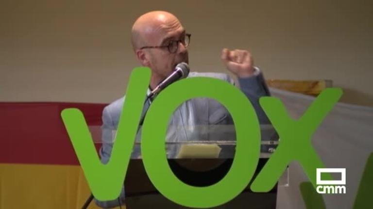 "Vox: Jorge Buxadé denuncia que Europa ""anima"" a la inmigración"