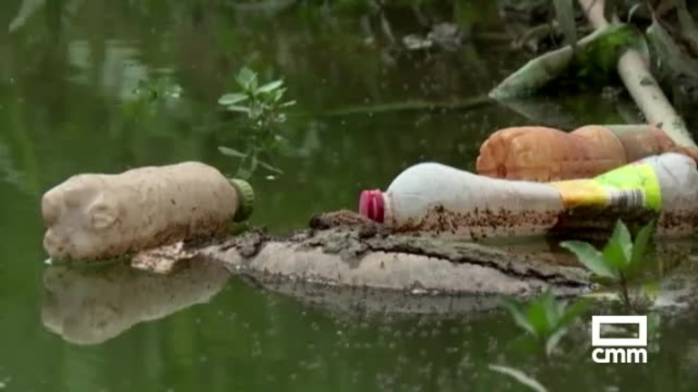 Ecologistas de CLM nos recuerdan que contaminamos los océanos, también a través de ríos como el Tajo