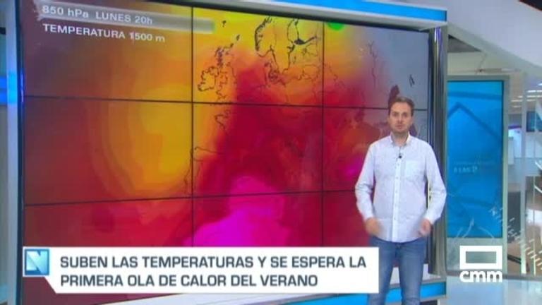 La primera ola de calor con aire africano llegará a Castilla-La Mancha este jueves