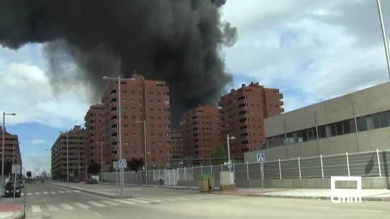 Dos años del incendio en el vertedero de neumáticos de Seseña