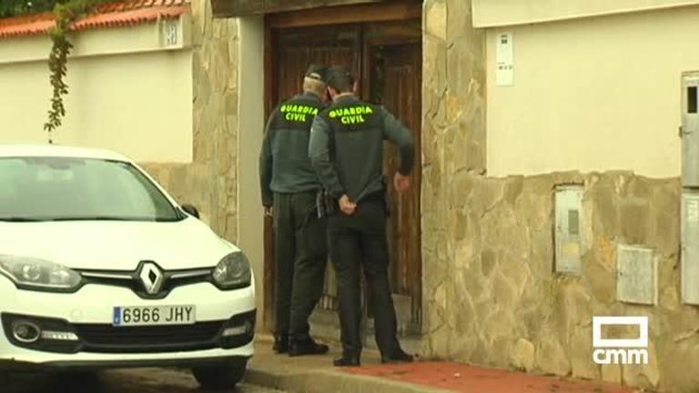 4 encapuchados amordazan a una pareja para robarles en su casa de Arcas, Cuenca