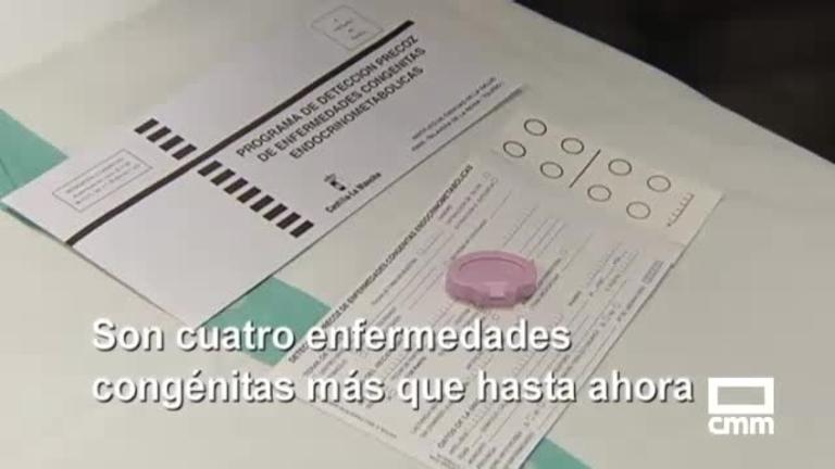 La prueba del talón detectará desde hoy 24 enfermedades, y otras noticias de Castilla-La Mancha