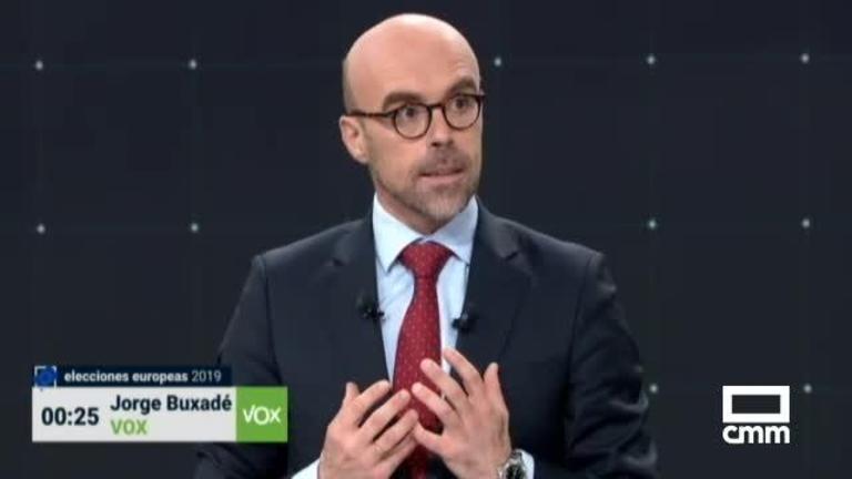 Vox: Buxadé propone una Europa que respete las fronteras