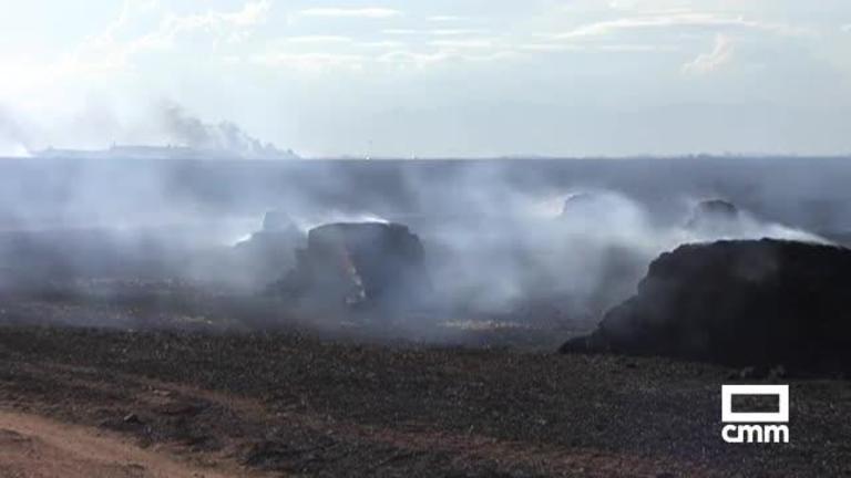 Controlado el incendio de La Pueblanueva (Toledo), que deja 50 hectáreas calcinadas