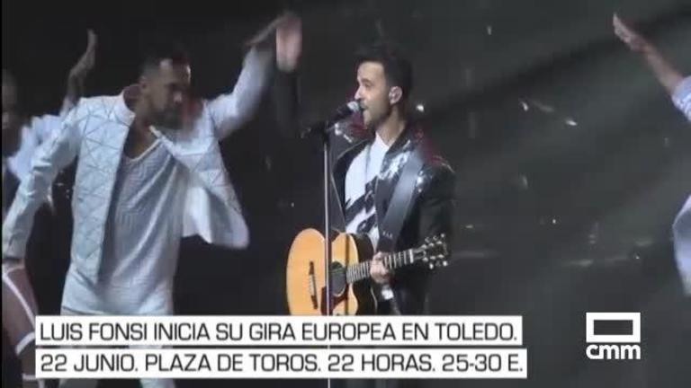 Luis Fonsi, Manolo García, Sinkope: La agenda cultural de Castilla-La Mancha.