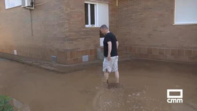 Inundaciones, riadas y granizo: las tormentas dejan grandes destrozos en CLM