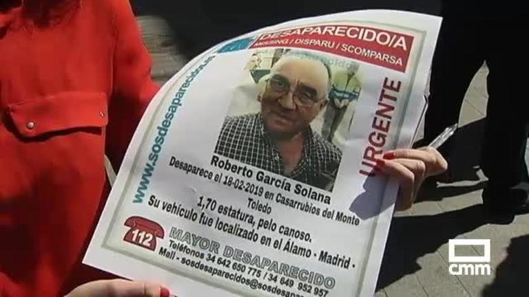 Un detenido por la desaparición del vecino de Casarrubios del Monte, Roberto García