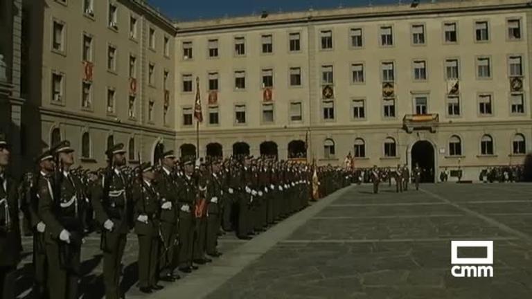 La Academia de Infantería de Toledo celebra el día de su patrona: la Inmaculada Concepción