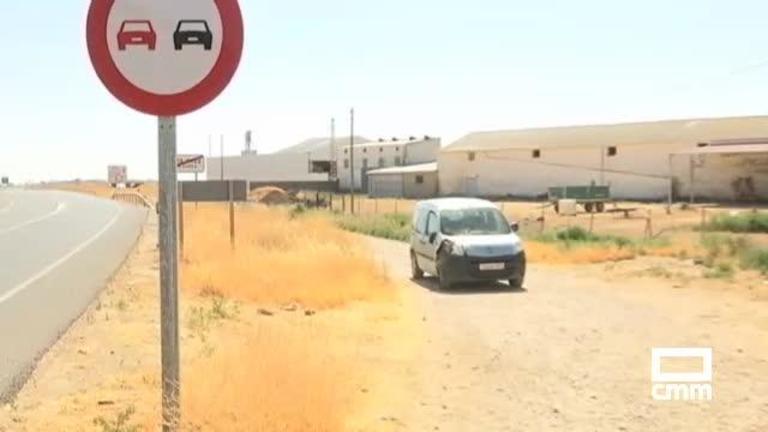 Muere un anciano de 84 años atropellado en Santa Cruz de la Zarza (Toledo)