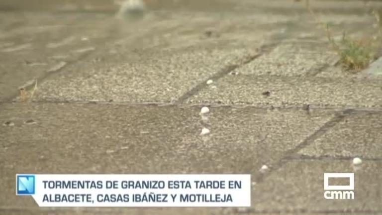 Aviso naranja por tormentas en Albacete y Cuenca