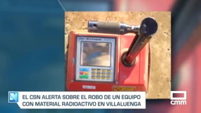 Roban un equipo radiactivo en Villaluenga de la Sagra (Toledo)