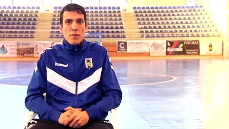 Conoce a Dani Santos del FS Valdepeñas, finalista del BalónCLM18