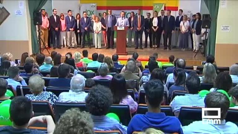 """Vox: El candidato a la alcaldía de Talavera asegura que """"sacará a la ciudad del pozo donde la han metido otros"""""""