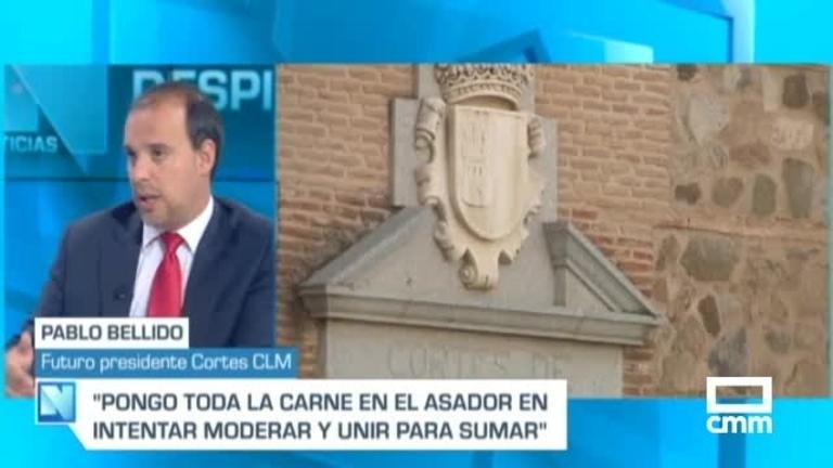 Pablo Bellido, próximo presidente de las Cortes: