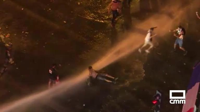 Dos muertos y disturbios en la celebración de Francia en el mundial
