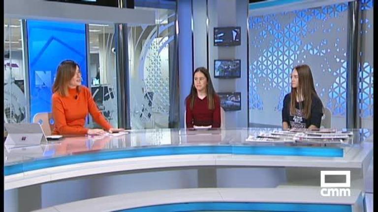 Entrevista a las karatekas Sonia López y Ainhora Valencia