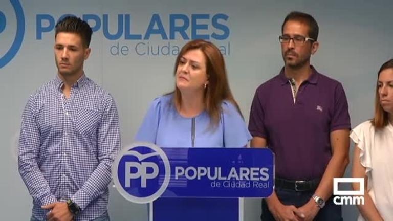 El PP pide la dimisión de la alcaldesa de Puertollano tras la operación de la UDEF