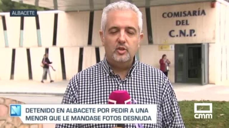 Un detenido en Albacete por un presunto delito de corrupción de menores