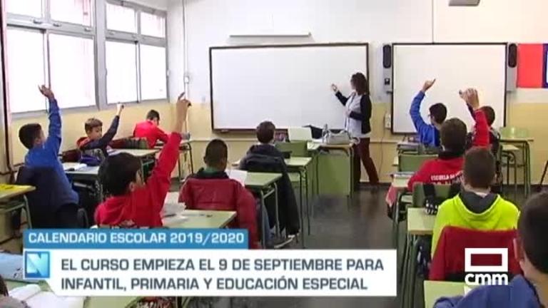 Consulta el calendario escolar para el curso 2019/2020