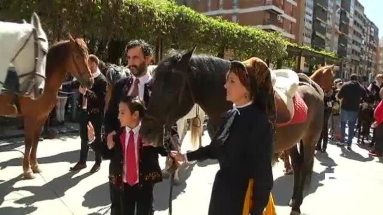 La tradicional Caballada sale, por primera vez, de Atienza; se celebra en Guadalajara