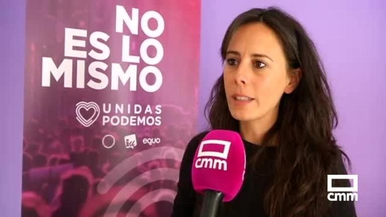 Unidas Podemos: Nieves Peinado asegura que su partido representa la única garantía de aplicar políticas progresistas