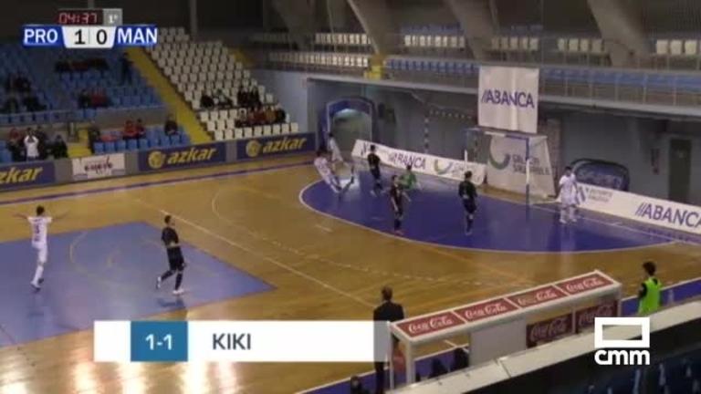 Prone Lugo - Manzanares FS (4-1)