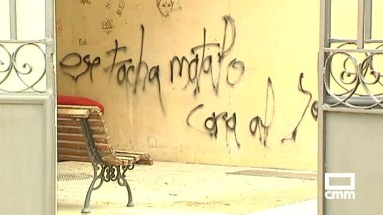 Denuncian actos de vandalismo en el Jardín de los Poetas de Cuenca