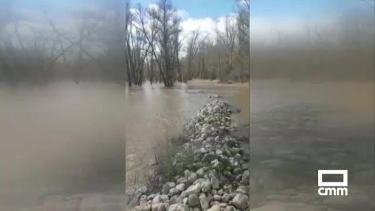 Las inundaciones del Henares ponen en peligro 300 hectáreas de cultivo