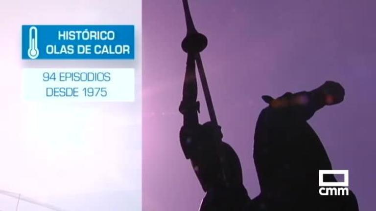 Ola de calor: Así han sido las 94 registrados en España desde 1975