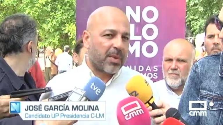 Unidas Podemos: García Molina anima a votar a su partido para dar continuidad a las políticas progresistas