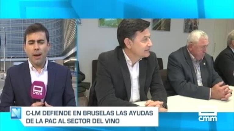 La defensa del vino de Castilla-La Mancha ante la nueva reforma de la PAC, a Bruselas.