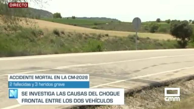 Mueren una mujer y una menor en un accidente en Armuña de Tajuña (Guadalajara)