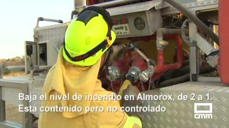 Almorox, Toledo, El Bonillo, Castejón, Pareja... Consulta la situación de los incendios, y otras noticias de Castilla-La Mancha
