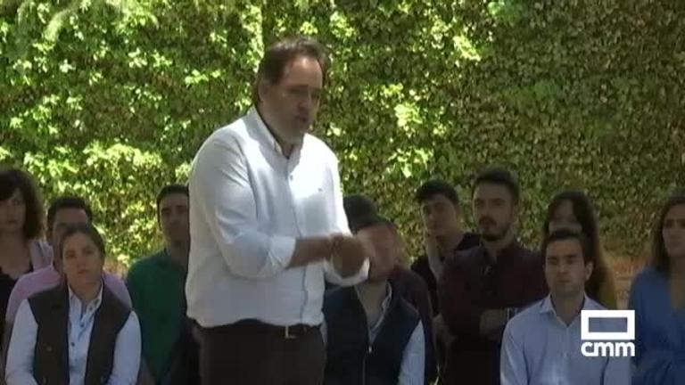 PP: Núñez pone a la juventud en el centro de la campaña en Villarrobledo (Albacete)