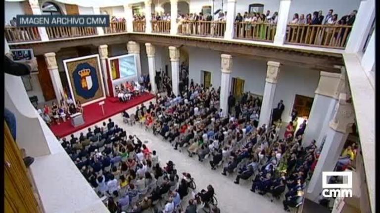 Estos han sido los asistentes al acto de toma de posesión de García-Page en Fuensalida
