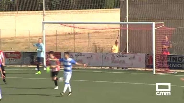 Atlético Ibañés - CD Villacañas (1-0)
