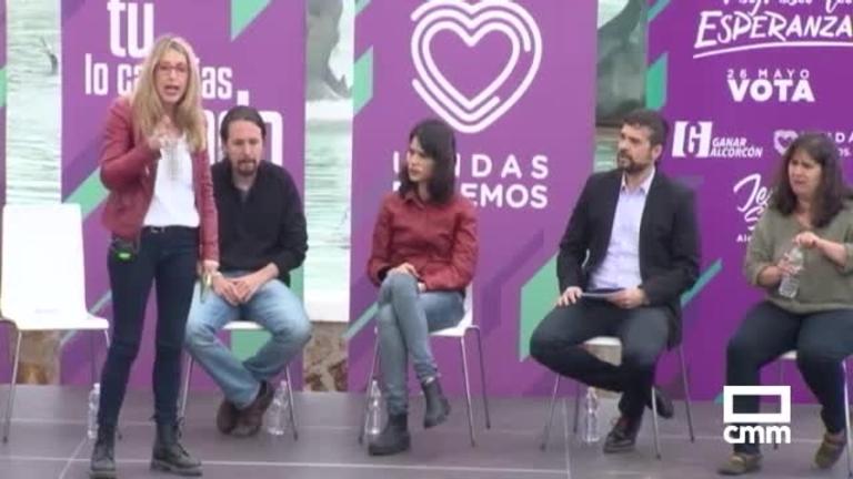 Unidas Podemos: Rodríguez Palop reivindica ciudades acogedoras frente al drama de la inmigración